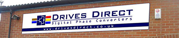 Drives Direct - Unit Sign